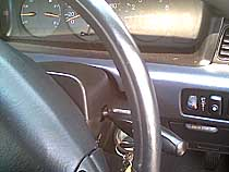 Steering wheel - after