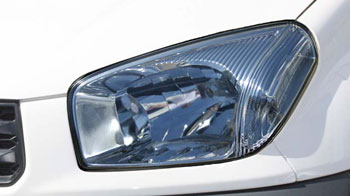 Headlight restoriation - after